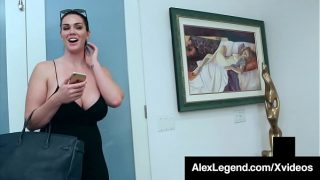 Big Boobed Brunette Alison Tyler Dicked By Fat Cock Legend!